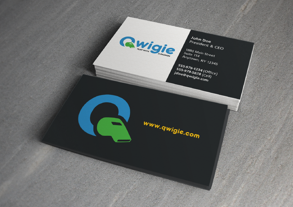 Qwigie Business Card